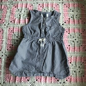 Old Navy striped nautical dress, 18-24 months